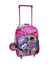 Disney Minnie Mouse Backpack Trolley suitcase Wheels (Medium)