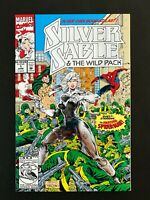 SILVER SABLE AND THE WILD PACK #1 MARVEL COMICS 1992 VF+