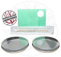 Sterilized Nutrient Agar 2, 100mm x 15mm Plates + Sterile Swabs