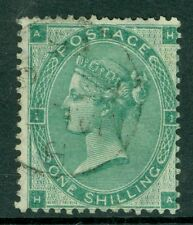 SG 90 1/- Green, very fine used CDS
