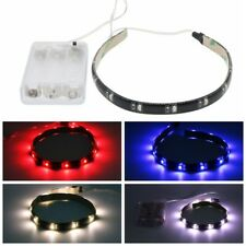 5pcs 3528 Battery Operated 30CM 12leds SMD Black PCB Waterproof Strip Light Lamp