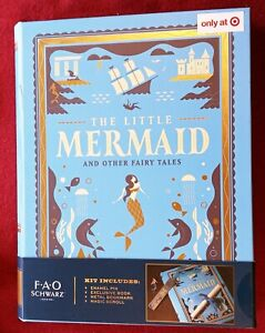 FAO Schwarz Little Mermaid & Other Tales Hardcover Target Exclusive w/ Bonuses