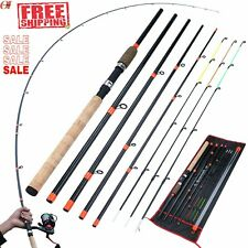 Feeder Fishing Rod Carbon Fiber Carp Pole Rock Travel 3M Lure Hard L M H Power