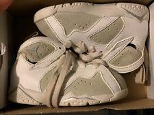 Air Jordan Retro 7 - White - Size 5c (Td)