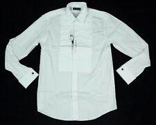 Ralph Lauren Black Label Pleated White Dress Shirt 16 $900 BNWT 100% Authentic