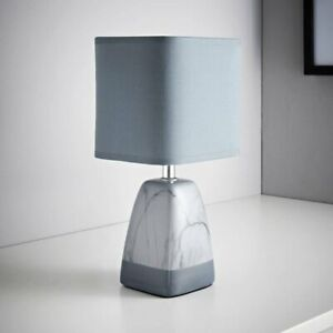 Truly Contemporary Stylish Marble effect Modern Table Lamp