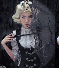 Rq-bl corset steampunk gothic sz L