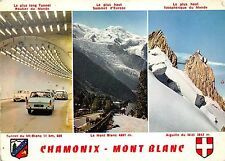 B66610 France Chamonix Mont Blanc multiviews cars voitures