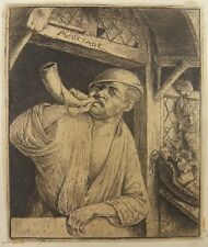 Original Etching by ADRIAEN VAN OSTADE !!!!!!