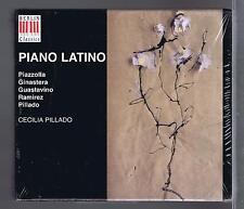 PIAZOLLA GINASTERA 2 CD SET NEW PIANO LATINO CECILIA PILLADO