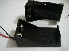 2pcs 9 Volt 9V BATTERY HOLDERS / CASE with 19cm Wire BH