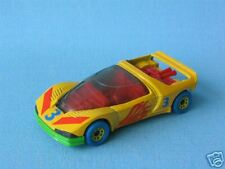 My First Matchbox Peugeot Quasar Yellow Hubs French Concept Sports Car