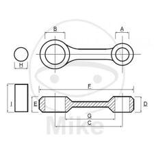 BIELLA PER ALBERO MOTORE PROX 756.05.15 KTM 125 EXC 2T FORCELLA 43 1998-2015