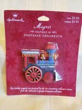 Hallmark Magnet Tin Locomotive Christmas in original package
