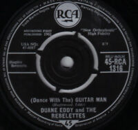 "Duane Eddy (Dance With The) Guitar Man Vinyl 7"" Single UK RCA 1316 1962"