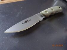 Knives Of Alaska Alpha Wolf Hunter D2 Blade G-10 Od Handle 330Fg Superior Wow R