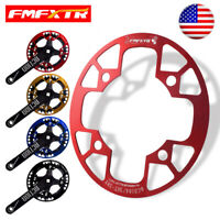 US Aluminum Alloy 104BCD MTB Bike Crankset Chainring Protect Cover Chain Guard
