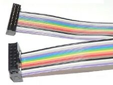 1 foot 34-Pin IDC Female - PCT Male Jumper Cable