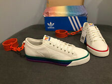 Adidas Jeremy Scott Nizza, Gay Pride Rainbow Shackles, LGBTQ, Size 12, RARE!