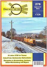 Drehscheibe Mar 2017, Issue 278 DB Deutsche Bahn
