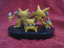 3 Pokemon Figuren/Zukan:Abra+Kadabra+Simsala/gebraucht,Yujin/Alakazam/F32