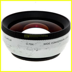 Aggiuntivo 0,79x Fuji Fujifilm wide conversion lens. A vite con filetto 55mm.