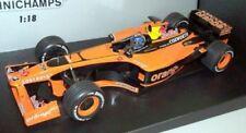 Voitures Formule 1 miniatures orange 1:18