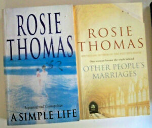 2 x Rosie Thomas - A Simple Life + Other People's Marriages