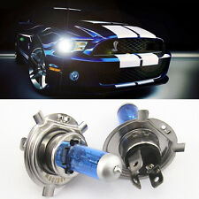 2X Super White H4 9003 HB2 Bi-Xenon HID High Low Beam Headlight Light Bulbs