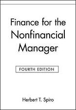 Finance for the Nonfinancial Manager, 4th Edition-ExLibrary