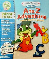 Little Touch LeapPad Leap Frog Baby A to Z Adventure Discover The Alphabet New