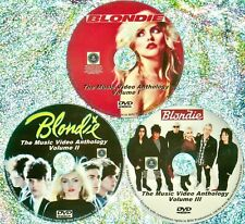 Pin & Free BLONDIE DEBBIE HARRY Music Video Anthology 82-2017 3 DVD Pollinator
