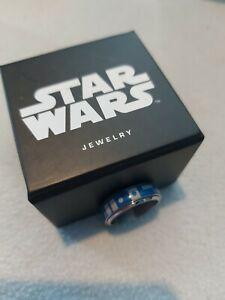 Disney Star Wars R2d2 Spinner Ring Size 11