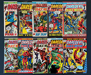 Daredevil #90-#99 , Marvel Comics Bronze Age Lot!!