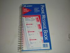 Avery Phone Message Book