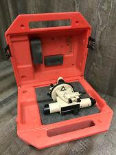 David White Alt6 900 Auto Level Transit Builders Level With Hard Case Good Shape