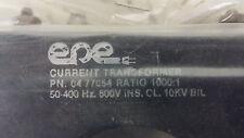 EPE CURRENT TRANSFORMER 04-77054 1000:1 RATIO SEE PICS #B59