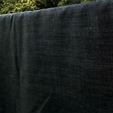 "Dark Indigo Cotton 10 oz Denim Woven Fabric 59"" width Sold by the Yard"