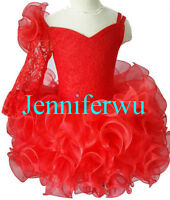 15 color-Infant/toddler/kids/baby/Girl's Pageant/prom/formal Dress size1-7 G192