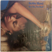 BOBBY BLAND TRY ME I'M REAL LP MCA USA 1981 NEAR MINT IN SHRINK WRAP