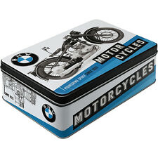 * BMW Classic Motorrad  Logo Box Oldtimer R17 Dose Tin Can Blechdose *021