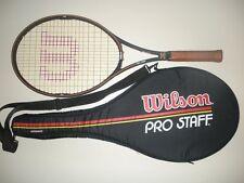 WILSON PRO STAFF 6.0  LARGEHEAD OS 110 TENNIS RACQUET 4 3/8  CHICAGO