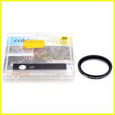 36mm. filtro UV Cokin per obiettivi M36. Ultra Violet filter for camera lens.