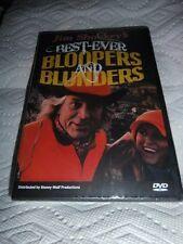 Jim Shockey's Best Ever Bloopers and Blunders Hunting Humor DVD - NIP Big Game