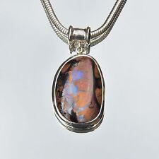 Echte Edelstein-Halsketten & -Anhänger mit Opal und Cabochon