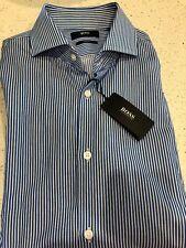 49e0b81b HUGO BOSS Spread Striped Slim Fit Dress Shirts for Men for sale | eBay