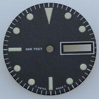 Dial for Eta 2836-2 Automatic DIVER SUB ⌀ 26.0mm SW220 NOS TRITIUM LUME