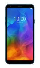 LG Q7  Plus - 64 GB -Moroccan Blue (Ohne Simlock)