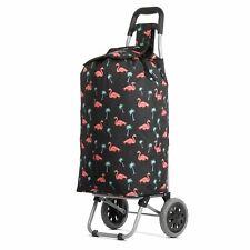 Hoppa 2 Roues Pliant Léger Shopping Mobility Panier Sac à roulettes étui Violet