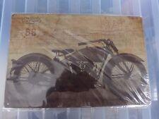 California US 66 Tin Retro Metal Sign Painted Poster Wall Art Garage Coffee Shop